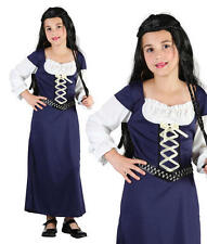 Childrens Kids Maid Marion Fancy Dress Costume Girls Childs Outfit Book Week S