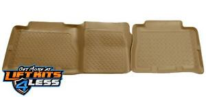 Husky Liner 61453 Tan Classic Style 2nd Seat Floor Liner for 2002-2007 GMC Yukon