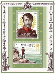 200 Years of Napoleon's Death Block MNH