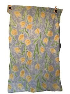 """XX-Large Dog Bed Cover Only Floral Press Fasten Close 36x57"""""""