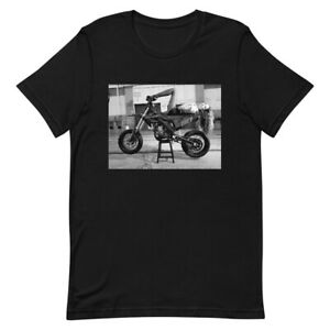 zXm Apparel Warehouse 51 Men's Premium Tee Black T-Shirt Supermoto Moto