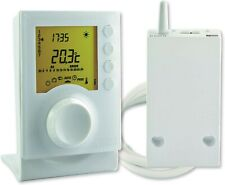 Thermostat d'ambiance sans fil programmable Tybox 137 DELTA DORE ref:6053007
