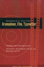 Gramophone, Film, Typewriter: By Kittler, Friedrich