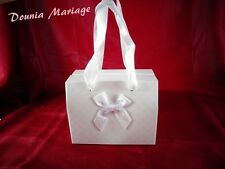 boite à gâteau forme sac cadeau pour mariage ou baptême x25