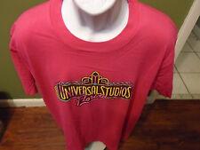 VINTAGE UNIVERSAL STUDIOS FLORIDA  T SHIRT NEON 80'S ADULT XL