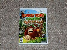 Donkey Kong Country Returns Nintendo Wii Brand New Factory Sealed