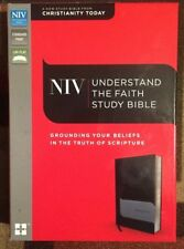 ZONDERVAN UNDERSTAND THE FAITH STUDY HOLY BIBLE 2015 NEW & BOXED
