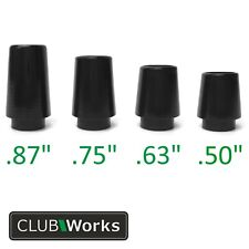 "Premium Collared Golf Club Ferrules - For irons & hybrids .355""  - 4 sizes"