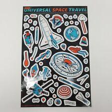 Tyler Stout Sticker 1 Sheet of Universal Space Travel