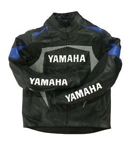 Yamaha Motorbike Jacket Leather Motorcycle Jacket Hump For Yamaha