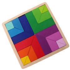 Puzzle Bois Montessori Jeux éducatif Tangram jouet éducatif enfants
