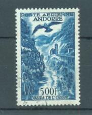 Andorra Air 1957 500Fr bird over river sg. F165 used