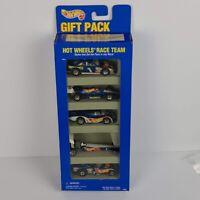 Vintage 90s Hot Wheels Mattel 5 Car Gift Pack New In Box