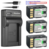 Kastar Battery Slim Charger for JVC BN-VF815 & JVC GZ-MG575 GZ-MG575AC GZ-MG555