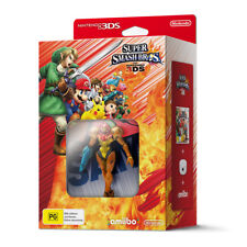 Super Smash Bros with NFC Reader/Writer & Samus amiibo Bundle 3DS Game NEW