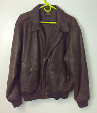 US ARMY AIR FORCE TYPE A-2 LEATHER FLIGHT JACKET SIZE 42 *B3#2*
