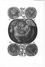 PETER LAZAROV: Exlibris für Thomas Thiels, alte Münzen