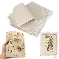 10 Learning Blank Tattoo Tattooing Fake False Practice Skin 20 x 15cm Synthetic