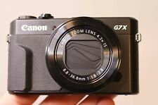 CANON POWERSHOT G7X MARK II 20.1MP DIGITAL CAMERA - BLACK - CAMERA ONLY