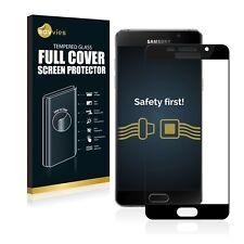 Full Cover Schutzpanzer Glasfolie schwarz für Samsung Galaxy A5 (2016) 9H