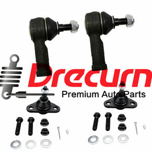 4PC Front Outer Tie Rod Ends For Volvo 740 745 760 780 940 960