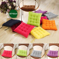 40×40cm Chair Seat Cushion Indoor Garden Patio Home Office Bar Soft Seat Pad