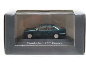Herpa Modellauto Mercedes Benz E320 Elegance Green 1 87 Scale Dealer Model Boxed