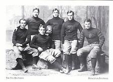 "*Postcard-""The Six Poe Brothers'  *Princeton Football, NJ (#253)"
