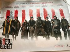 THE HATEFUL EIGHT Original Uk CINEMA QUAD Poster