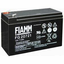 FIAMM IC-FG20721 12V 7,2 Ah Batteria al Piombo - Nera