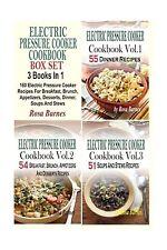 Electric Pressure Cooker Cookbook Box Set: 160 Electric Pressur... Free Shipping