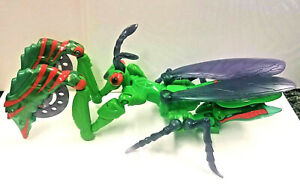 Vintage Beast Wars NMT Complete Manterror Deluxe Praying Mantis Predacon Insect