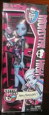 "Monster High Coffin Bean Abbey Bominable Daughter Of The Yeti 11"" Blue Doll"