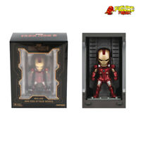Beast Kingdom Mini Egg Attack MEA-015 Iron Man 3 Hall of Armor LIGHT UP Mark VII