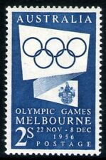 Australia 1954 2/- Blue Olympic Games Publicity Mint Unhinged