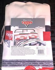 DISNEY PIXAR CARS 4-PC QUEEN SHEET SET NIP