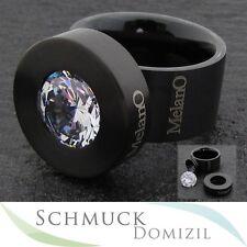 NEU MelanO Cameleon Ring 8 mm Edelstahl SCHWARZ - Gr. 60