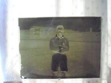 Original Glass Negative photo Middlesbrough unknown player 1950s