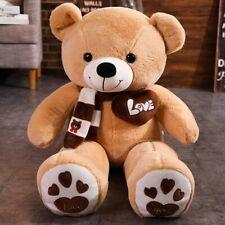 60cm Giant Big Teddy Bear Stuffed Soft Plush Animal Toy Kids Birthday Gifts
