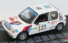 Coches de rally de automodelismo y aeromodelismo Altaya Peugeot