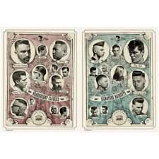 Reuzel Pomata Poster Set Barber & Haarschnitt Poster