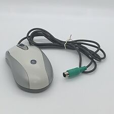 Genuine GE (WK4403) Gray PS/2 Wired Optical Computer Mouse Only