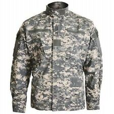 US ACU at Digital Combat Jacket Army UCP Digi Camoflauge Rip Stop Coat L/Large