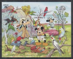 L466. Grenada - MNH - Cartoons - Disney's - Characters - Birds