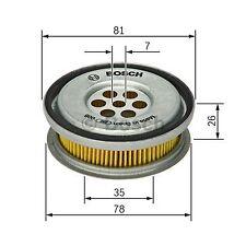 BOSCH Element Oil Filter 1457429416 - Single