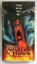Asylum Of Terror Rare & OOP Horror Movie Original York Home Video Release VHS