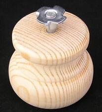 4er packung klein Holz Kiefer Kugelfüße mit M8 Bolzen 66mm
