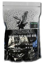 BUSTA PALLINI SOFTAIR BIANCHI 1KG 5000 PZ 6MM PESO 0.20G - JS TACTICAL