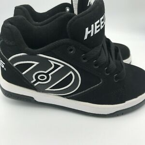Heelys Propel 2.0 Black Youth Size 1 Skate Shoes