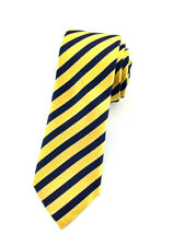 Mens Skinny Tie 6 CM Striped Wedding Business Groomsmen Ties CHOOSE COLOR